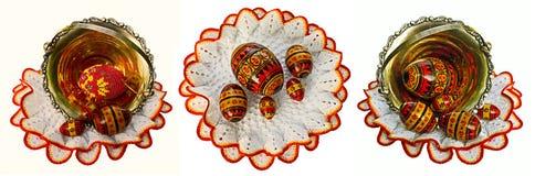 påsk- ägg Arkivfoton