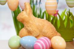 Påsk Bunny Cake Fotografering för Bildbyråer