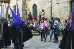 Påsk i Galicia (Spanien) arkivfoto