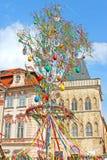 Påsk i Prague, Tjeckien Royaltyfri Foto