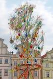 Påsk i Prague, Tjeckien Arkivbilder