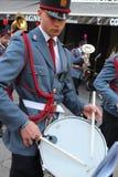 Påsk i Sicilien, heliga fredag - vår dam i procession - Italien Arkivbilder