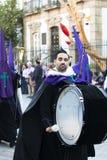 Påsk i Spanien royaltyfria foton