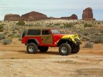 Påsk Jeep Safari, Moab Utah Royaltyfri Fotografi