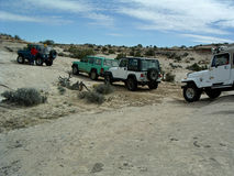 Påsk Jeep Safari, Moab Utah Royaltyfria Bilder