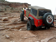Påsk Jeep Safari, Moab Utah Royaltyfri Foto