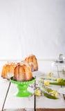 Påsk muffin Royaltyfri Foto