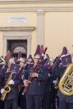 Påsk på ön Korfu Grekland royaltyfria foton