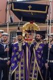 Påsk på ön Korfu Grekland royaltyfri foto