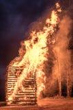 Påskbrand arkivbild