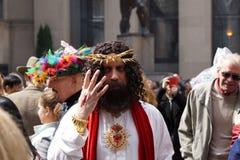 Påsken för 2015 NYC ståtar & sätter på en hätta festival 11 Arkivfoto