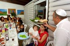 Påskhögtid Seder - judiska ferier fotografering för bildbyråer