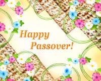 Påskhögtid - vårferie i judendom vektor illustrationer