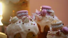 Påskkakor - traditionella Kulich, Paska påskbröd Traditionell påskvår