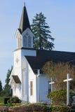 Påsksöndag kyrka royaltyfria foton
