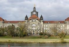 Påstå huset av Sachsen Royaltyfria Foton