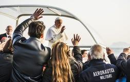 Påve Francis Arkivbild