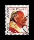 Påve John Paul II, 15th årsdag av valet, Polen, circa 1993, Arkivbilder
