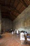 Påveanti--kammare, Palais des Papes, Avignon, Frankrike Arkivfoton