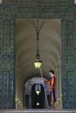Påvlig schweizisk vakt av Vatican City Arkivfoton