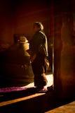 Pèlerin du monastère Gyantse Thibet de Palkhor Image libre de droits