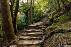 Pèlerinage au tombeau du Japon photos libres de droits