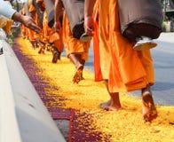 Pèlerinage en Thaïlande Images stock