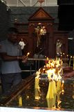 Pèlerins de saint Anthony Shrine à Colombo photos libres de droits