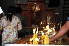 Pèlerins de saint Anthony Shrine à Colombo photo libre de droits