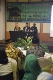 Pèlerins record d'Umrah à Mecque Image libre de droits