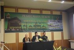 Pèlerins record d'Umrah à Mecque Photos stock