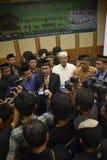 Pèlerins record d'Umrah à Mecque Image stock