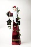 Père Christmas en métal Image libre de droits
