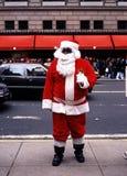 Père Christmas sur la 5ème avenue Images stock