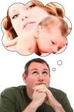 Père de famille Photo stock