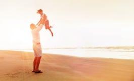 Famille en bonne santé d'amusement Image stock