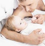 Père et chéri Photographie stock libre de droits