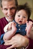 Père et descendant Image stock