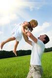 Père et descendant Photos libres de droits