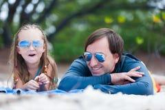 Père et fille Photo libre de droits