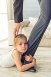 Père et fille Image libre de droits