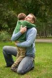 Père et fils Image libre de droits