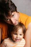 Père et fils Images libres de droits