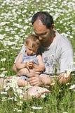 Père et fils Image stock