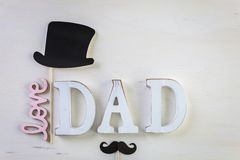Père et fils Photos libres de droits