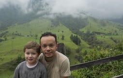 Père et garçon de parent Photos libres de droits