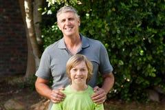 Père et son fils photo stock