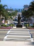 Père Serra dans Ventura Images stock