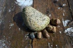 Pé das rochas Imagem de Stock