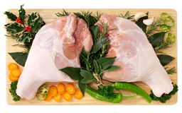 Pé de carne de porco Foto de Stock